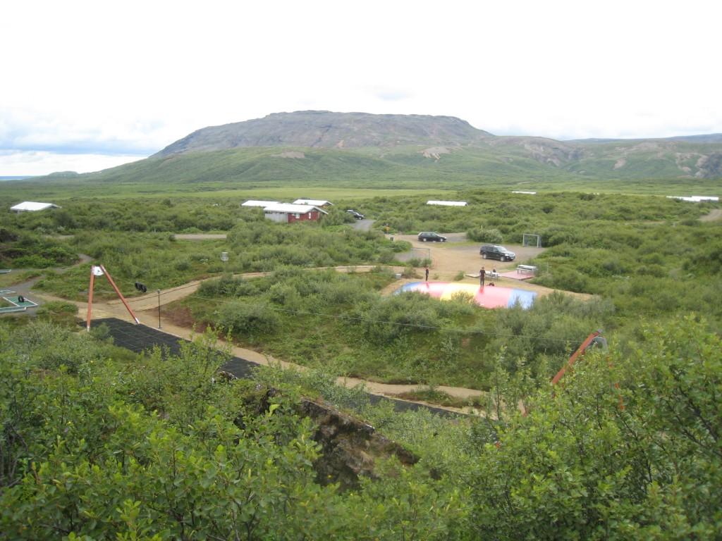 Miðhúsaskógur stóra leiksvæðið