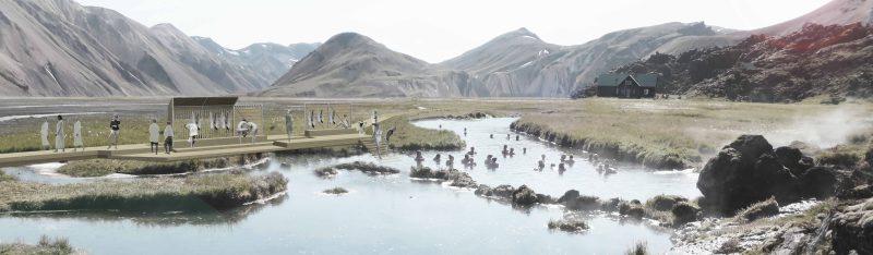 Landmótun hlaut 1. verðlaun í  samkeppni um Landmannalaugar