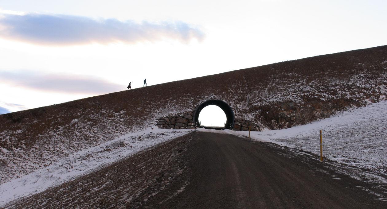 Snjóflóðavarnargarður, Seljalandsmúli Ísafirði