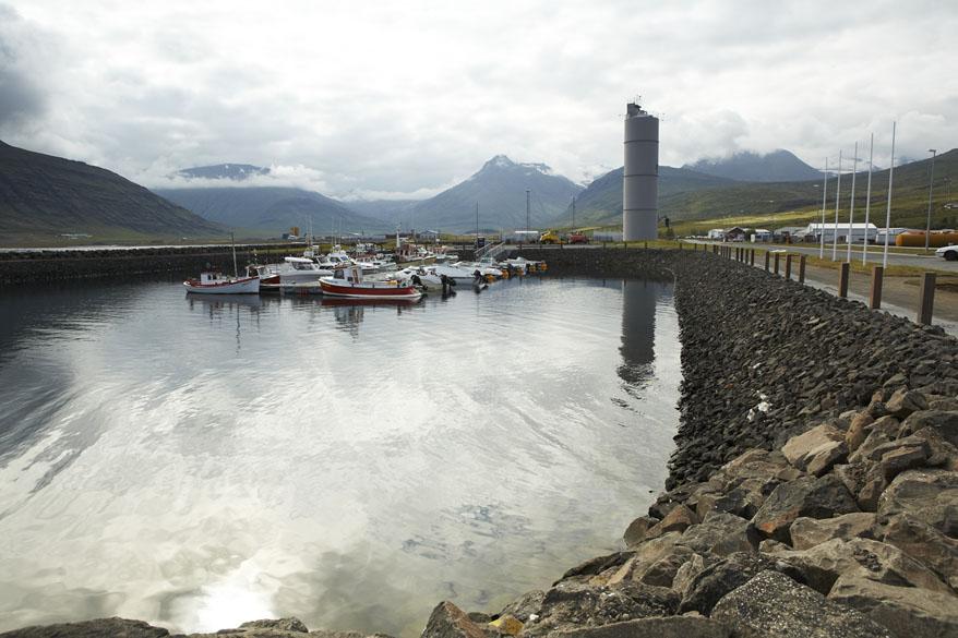 Smábátahöfn á Reyðarfirði