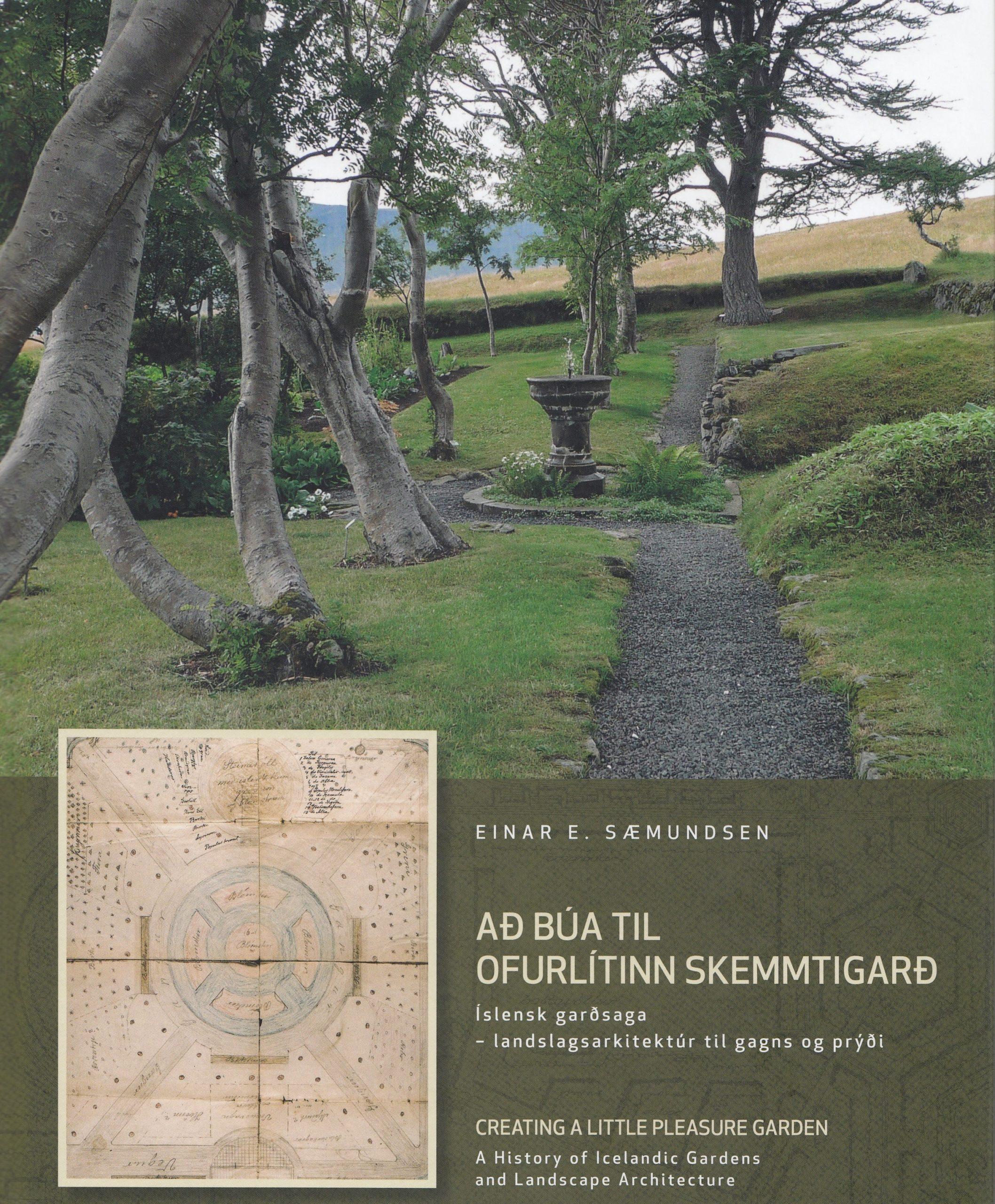 """Útgáfu ,,Að búa til ofurlítinn skemmtigarð"""" eftir Einar E. Sæmundsen fagnað"""