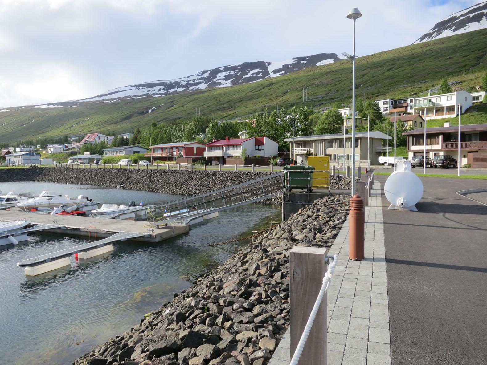 Smábátahöfn á Eskifirði