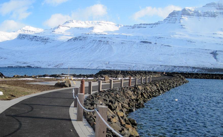 Smábátahöfn á Fáskrúðsfirði