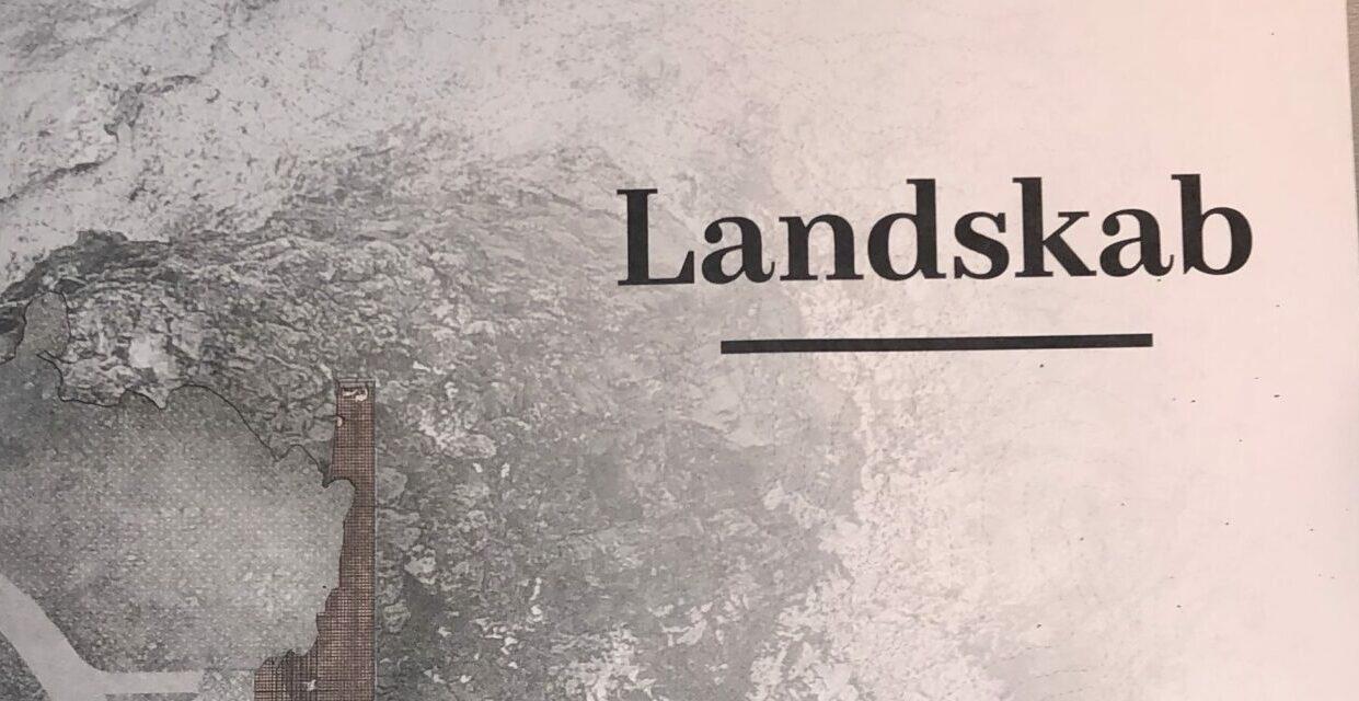 Landmótun prýðir forsíðu Landskab